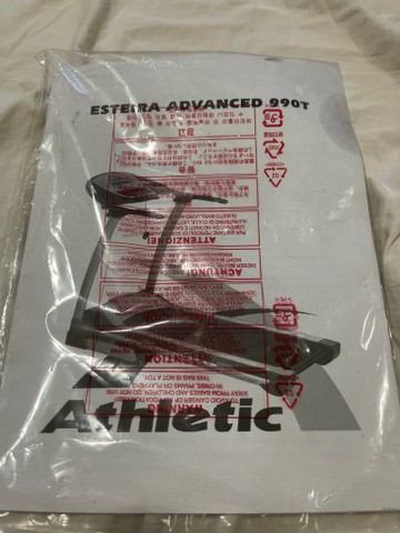 Vendo esteira elétrica Athletic advanced 990t - Foto 4