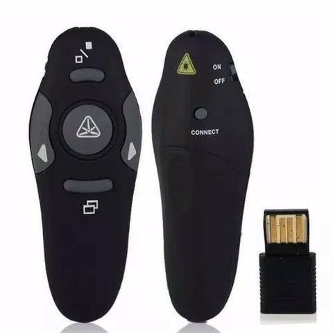 Caneta Apresentador-Passador de Slides Apontador de Power Point -Somos Loja