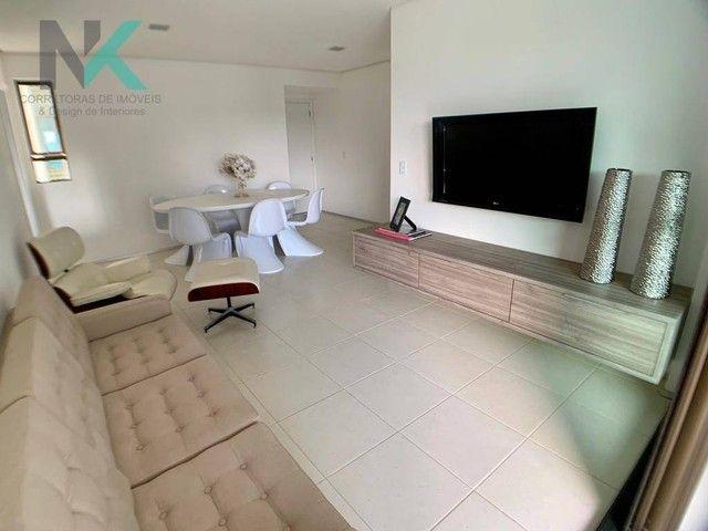 Apartamento com 3 dormitórios à venda, 114 m² por R$ 811.023,29 - Guaxuma - Maceió/AL - Foto 8