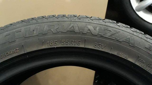 Pneus Bridgestone aro 16 em Ótimo estado  !! - Foto 3
