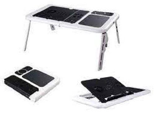 Mesa Para Notebook Dobrável Portátil Articulada Com Cooler - Foto 2