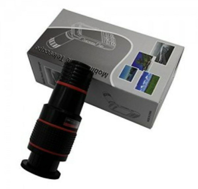 Lente Zoom 8x Câmera Celular Para Smartphones - Foto 6