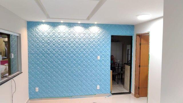 Eletricista profissional e paredes 3D de gesso - Foto 6