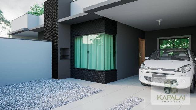 Casa com 2 dormitórios à venda, 76 m² por R$ 225.000,00 - Itacolomi - Balneário Piçarras/S
