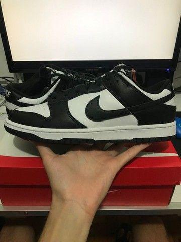 Nike Dunk Low White Black - Foto 2