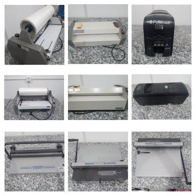 Kit Gráfica Rápida Digital (16 máquinas - impressão, sublimação e +) - Foto 5