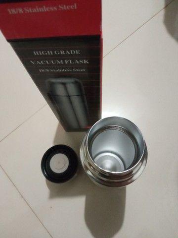 Garrafa Térmica Inox 500ml Frio e Quente - Foto 2
