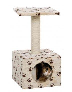 Casinha Para Gatos Toca Com Arranhador