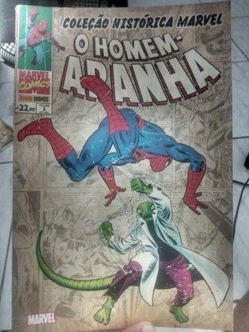 Coleção histórica do Homem-Aranha Volumes 1,2 e 3 - Foto 3