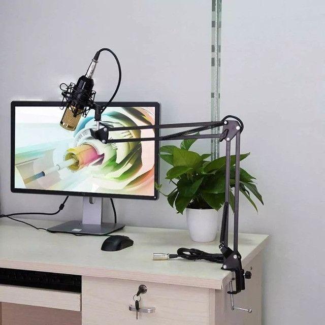 Kit Microfone Condensador Profissional bm900 completo. - Foto 2