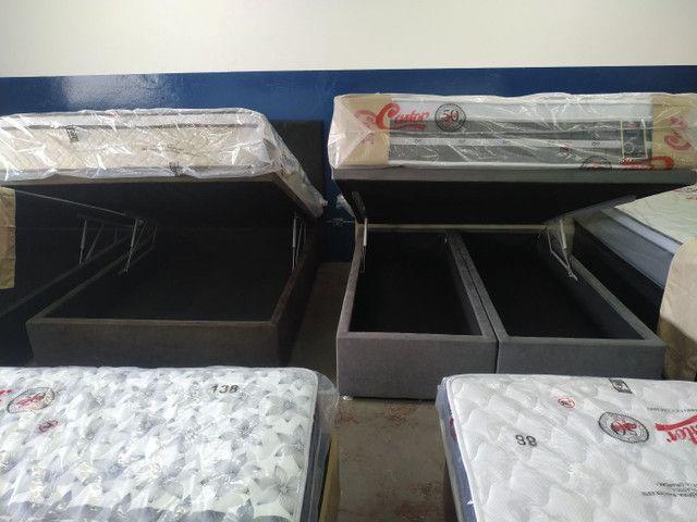 DISK-CAMAS- colchões- cama baú __ cama box baú e acessórios - Foto 6