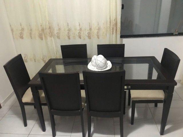 Mesa de 6 cadeiras - Foto 2