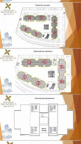 Apartamento 2 quartos, 63 m² na 506 Norte - Residencial Mandela - Foto 14