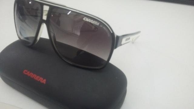 5dc328751 Óculos de Sol Carrera Grand Prix 2 Preto/Branco - Original - Em perfeito  estado!