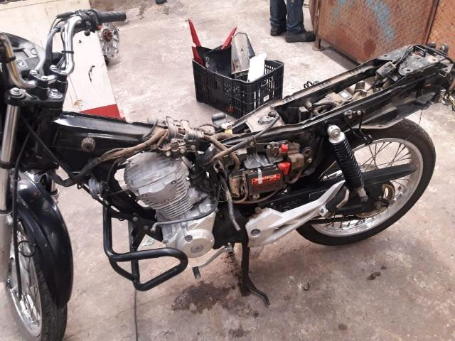 Burrinho traseiro Honda CG 160 Start 2016 - Foto 2