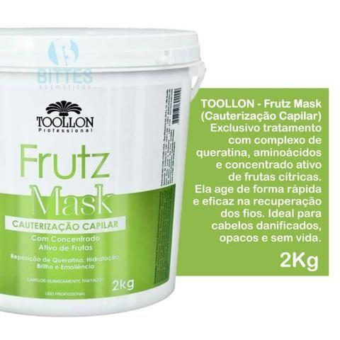 Cauterização Capilar - 100% Vegetal 2 Kg Toollon Cosméticos - Foto 4