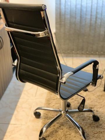 Jogo de 3 cadeiras para escritório - Foto 2
