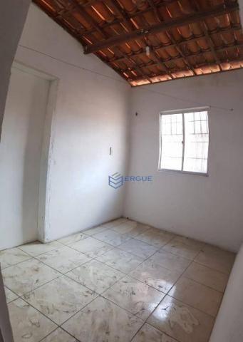 Casa com 2 dormitórios para alugar e vender, 60 m² por r$ 450,00/mês - dias macedo - forta - Foto 6