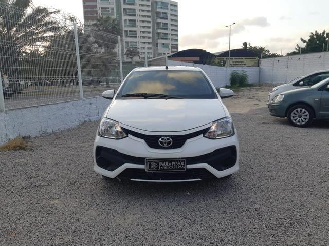 Etios Sedan X 1.5 Flex, completo, mecânico, cor branco - Foto 3
