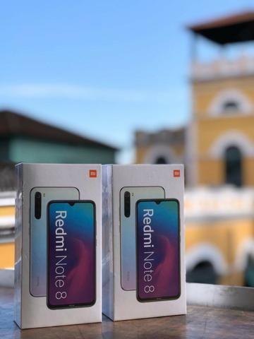 Xiaomi Redmi Note 8 - 4GB Ram Dual 64GB Preto/Azul - Foto 3