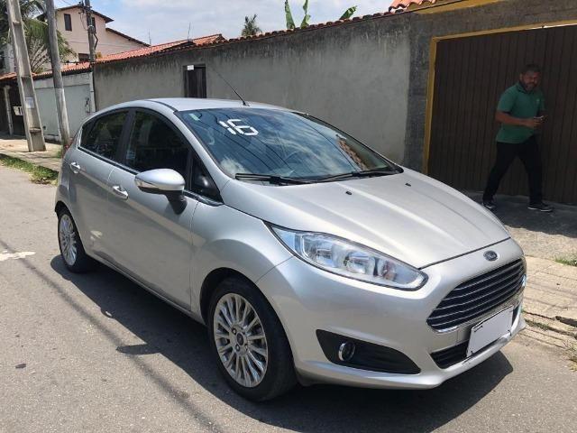 Fiesta titanium 1.6 automatico top de linha 2016 - Foto 3