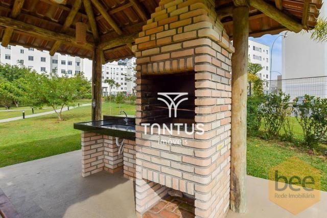 Apartamento com 2 dormitórios à venda, 50 m² por r$ 240.000 - pinheirinho - curitiba/pr - Foto 16