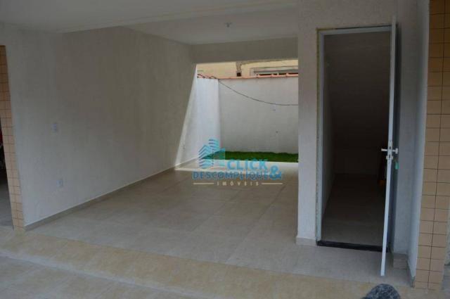 Casa com 2 dormitórios à venda, 87 m² por R$ 380.000,00 - Estuário - Santos/SP - Foto 12