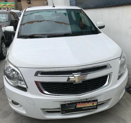 Chevrolet Cobalt ltz 1.4 completo c/ multimídia _ peq entrada + 48x 669,99 fixas - Foto 9