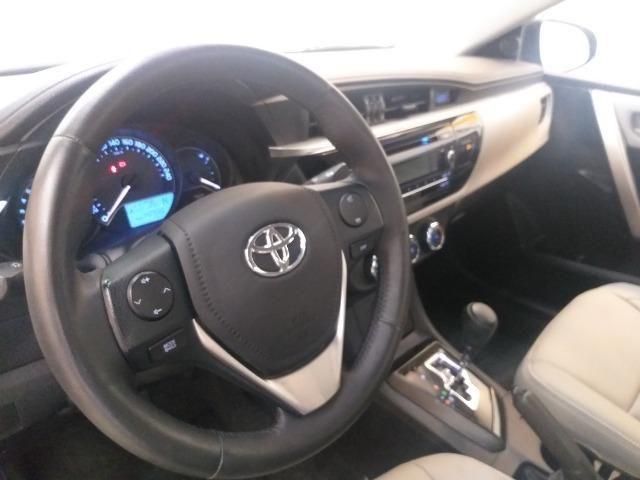 Toyota Corolla Gli flex automático 2014/2015 - Foto 10