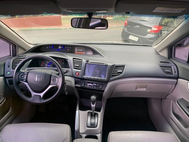 Honda civic 2014/2015 LXR 2.0 AUTOMATICO - Foto 7
