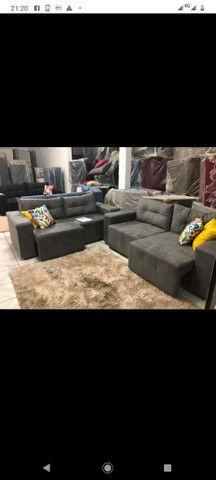 Black fradey sofás novos a partir de 499 corra e garanta já o seu - Foto 2