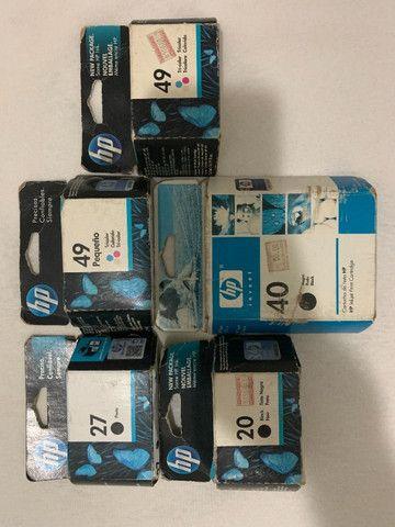 Cartuchos HP Preto/Colorido Original Para HP Deskjet - Foto 2