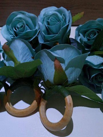 Porta guardanapo flor - Foto 5