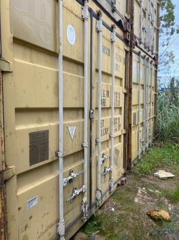 Container marítimo - ótimo padrão - pgto só na entrega - Foto 5