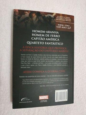 Livro Guerra Civil / Marvel - Stuart Moore - Foto 2