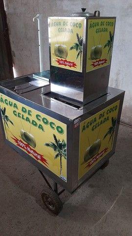 Vendo carrinho de Água de Coco - Foto 2