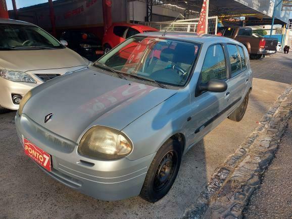 Renault Clio Hatch 2001 com ar  - Foto 14