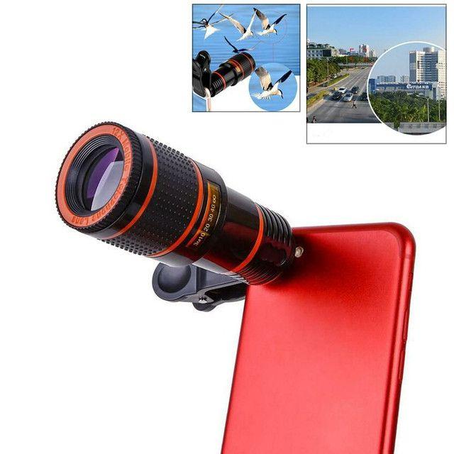 Lente Zoom 8x Câmera Celular Para Smartphones - Foto 3
