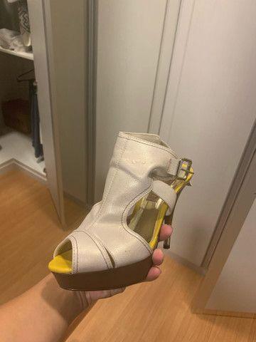 Sandália de salto alto  - Foto 4