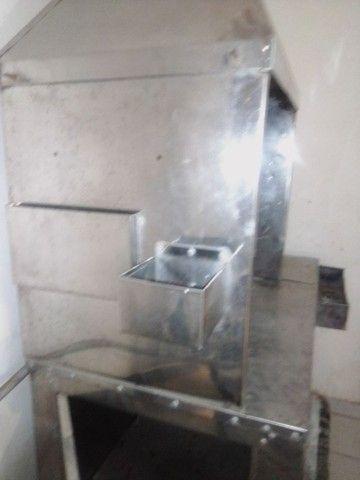 Troco carrinho de churrasco com compartimento de refrigerante.por computador completo - Foto 2