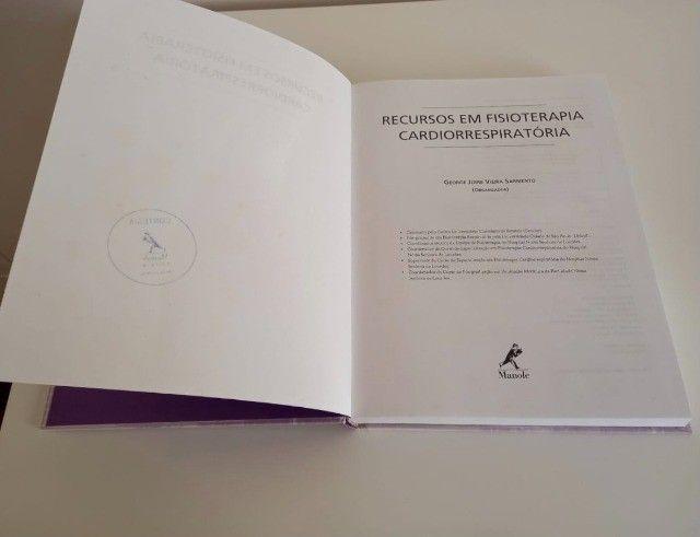 Livro Recursos Em Fisioterapia Cardiorrespiratória - Foto 2