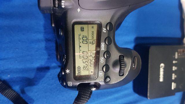 Câmera Canon 60d (corpo e acessórios) - Foto 2