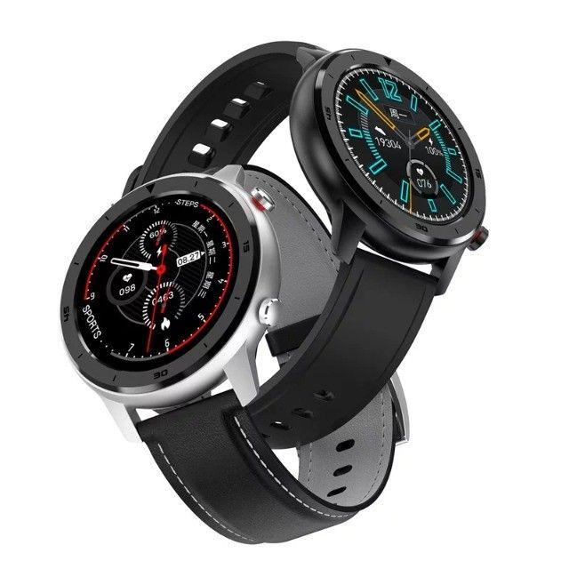 Smartwatch DT78 - Película e Pulseira Extra de Brinde - Novo - Foto 2