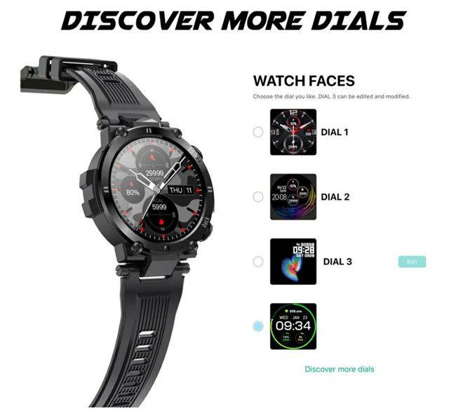 Smartwatch Senbono D13 (Leia a descrição) - Foto 2