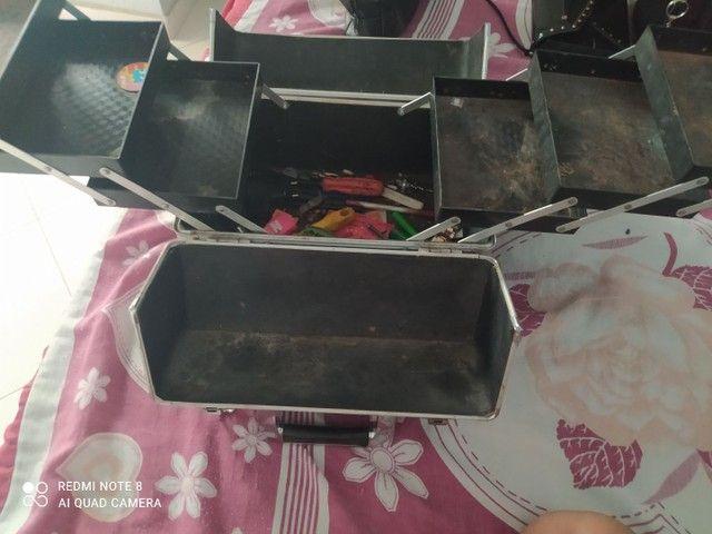 Vendo maleta  de maquiagem sem maquiagem! - Foto 2