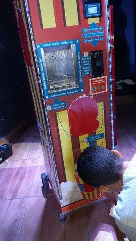 Máquina de pipoca automática, vending machine, marca Mais Pipoca(Almeida Tecnologic