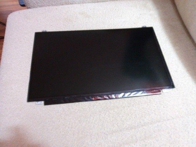 tela de led slim 15.6 de 30 pinos para qualquer notebook por R$700 tratar 9- * - Foto 2