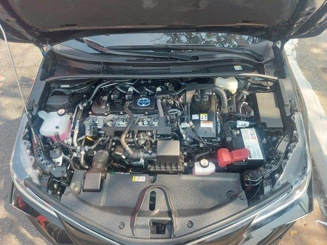 469. Corolla Altis Premium 1.8 Hybrid 2021 - 4.000 km - Blindado com Teto Solar - Foto 15