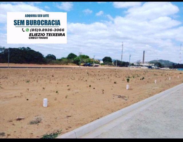 Loteamento as margens da BR-116, 10 minutos de Fortaleza! - Foto 3