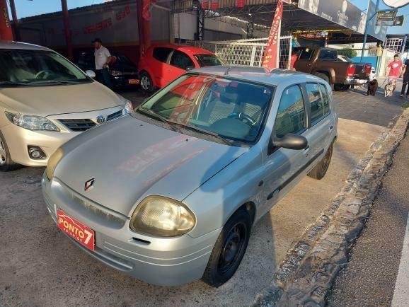 Renault Clio Hatch 2001 com ar  - Foto 12